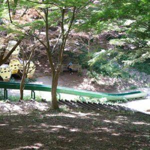 水戸市森林公園、滑り台